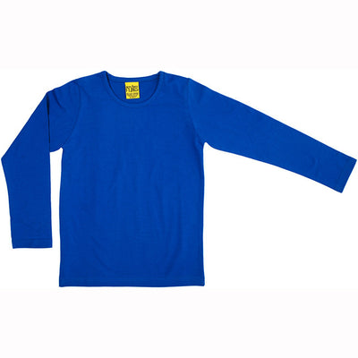 More Than a Fling Blue Long Sleeve Shirt