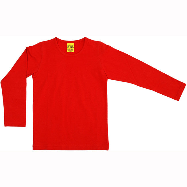 More Than a Fling Red Long Sleeve Shirt