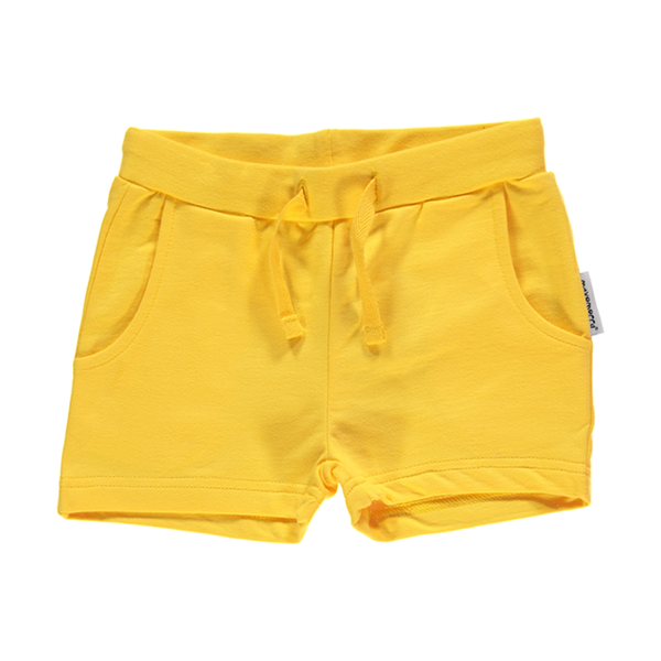 Maxomorra Yellow Shorts