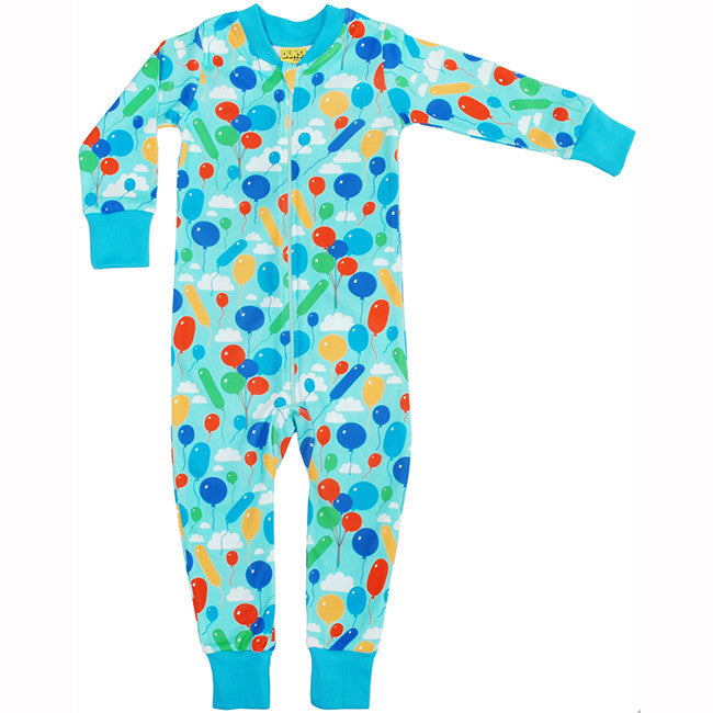 Duns Sweden Turquoise Balloon Zip Suit