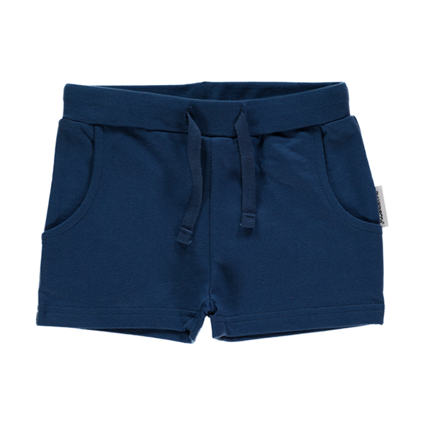Maxomorra Navy Shorts