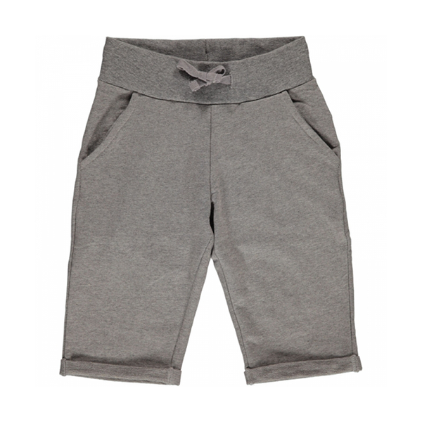 Maxomorra Light Grey Knee Length Shorts