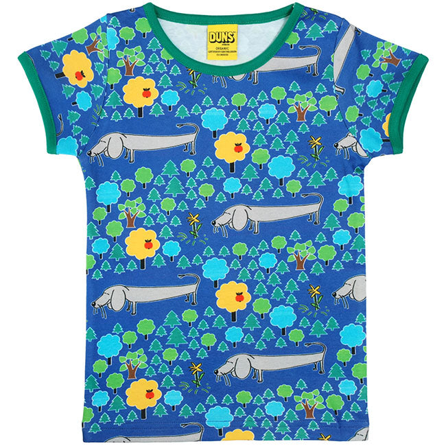 Duns Sweden A Dog Life Adult Shirt - Blue