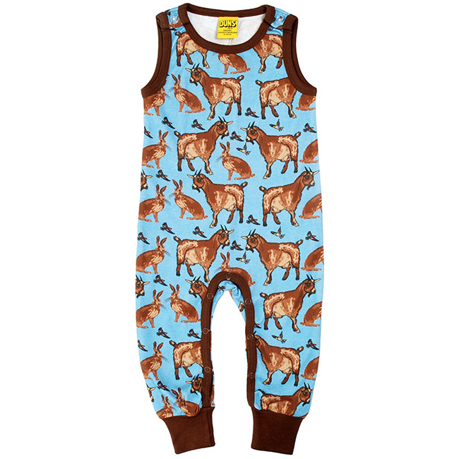 Duns Sweden Goat Dungarees - Turquoise