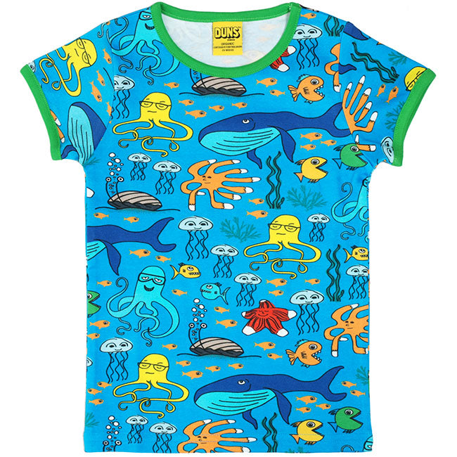 Duns Sweden Sea Life T-Shirt - Blue