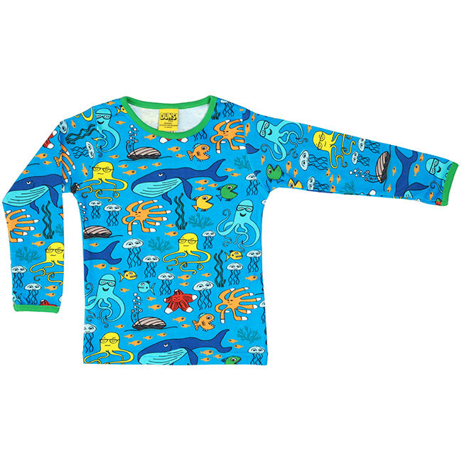 Duns Sweden Sea Life Shirt - Blue