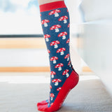 Fraulein Prusselise Mushroom Knee High Socks - Adult