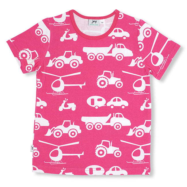 JNY Vehicle T-Shirt - Pink