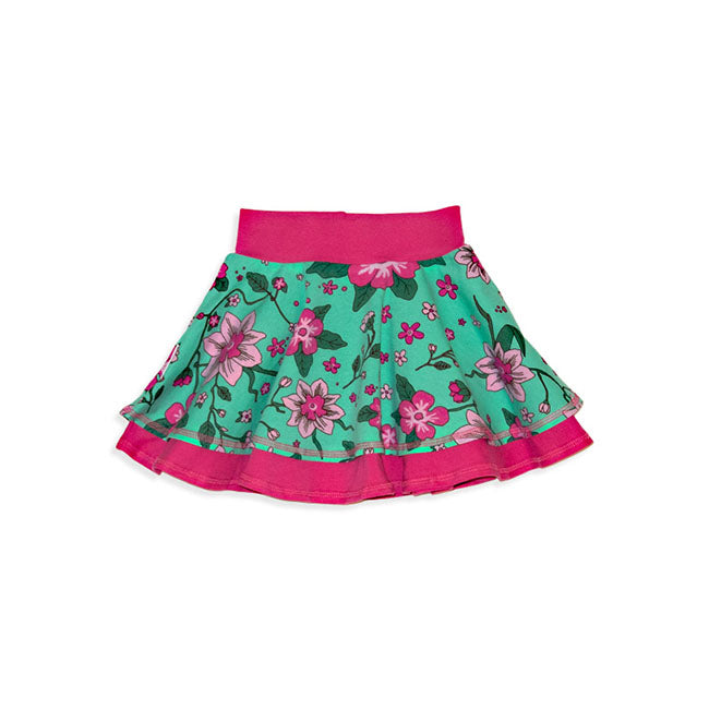 JNY Spring Flower Skirt