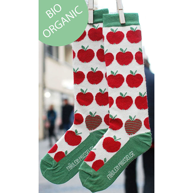 Fraulein Prusselise Apple Knee High Socks - Green