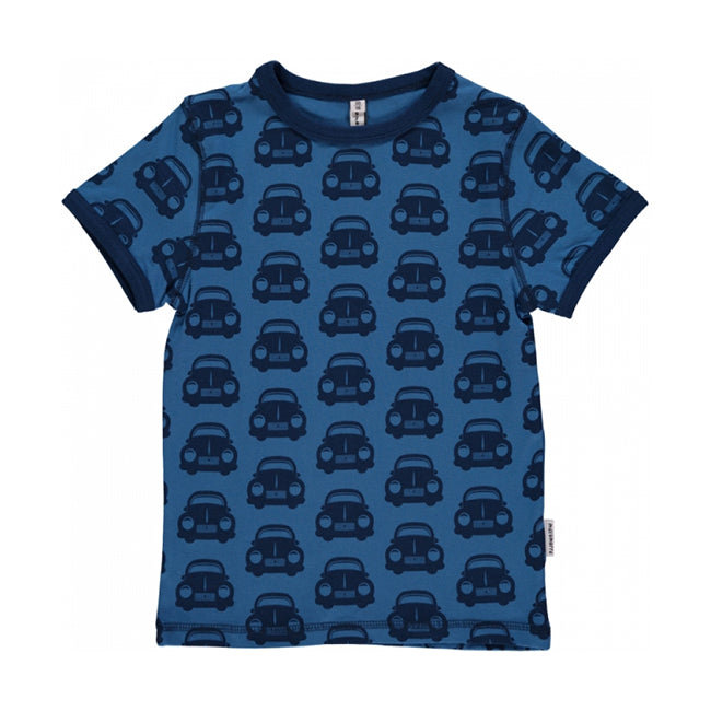 Maxomorra Mono Car T-Shirt