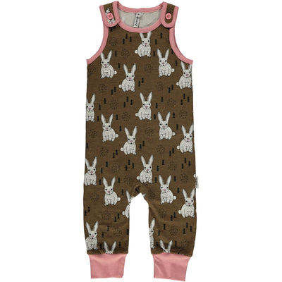 Maxomorra Rabbit Playsuit