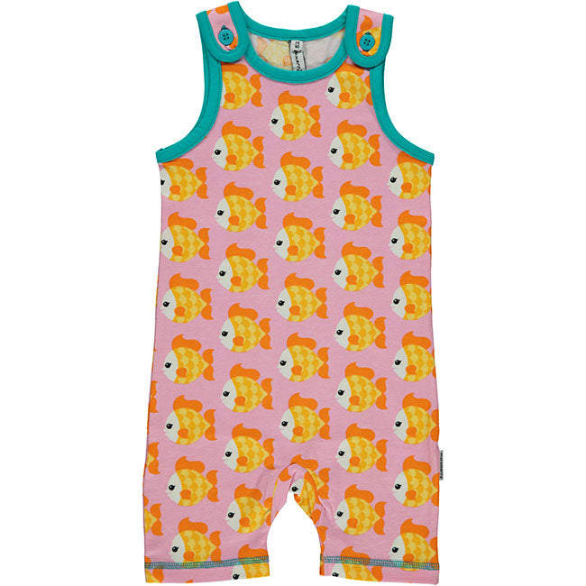 Maxomorra Goldfish Short Playsuit