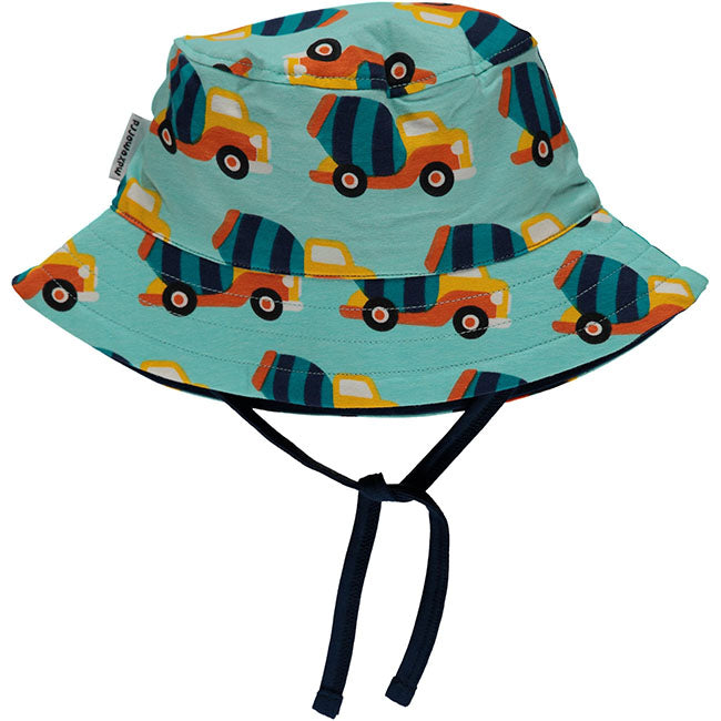 Maxomorra Cement Truck Sun Hat