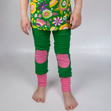 Moromini Green & Pink Leggings