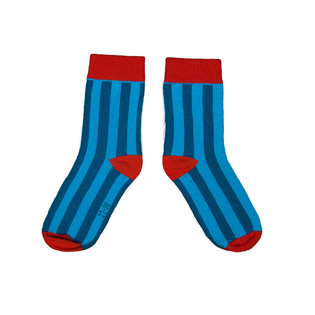 Moromini Socks - Blue/Light Blue