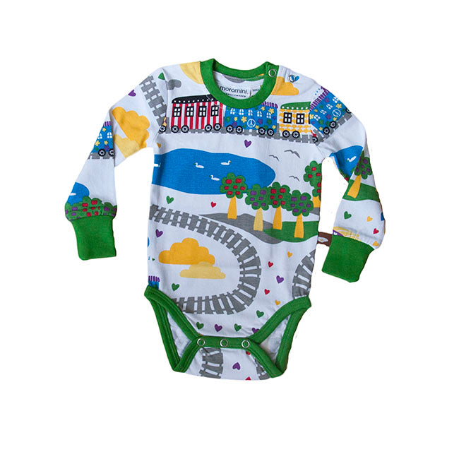 Moromini The Peace Train Bodysuit