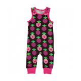 Maxomorra Polka Beet Playsuit