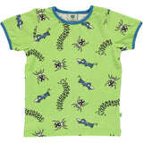 Smafolk Bugs T-Shirt - Sap Green