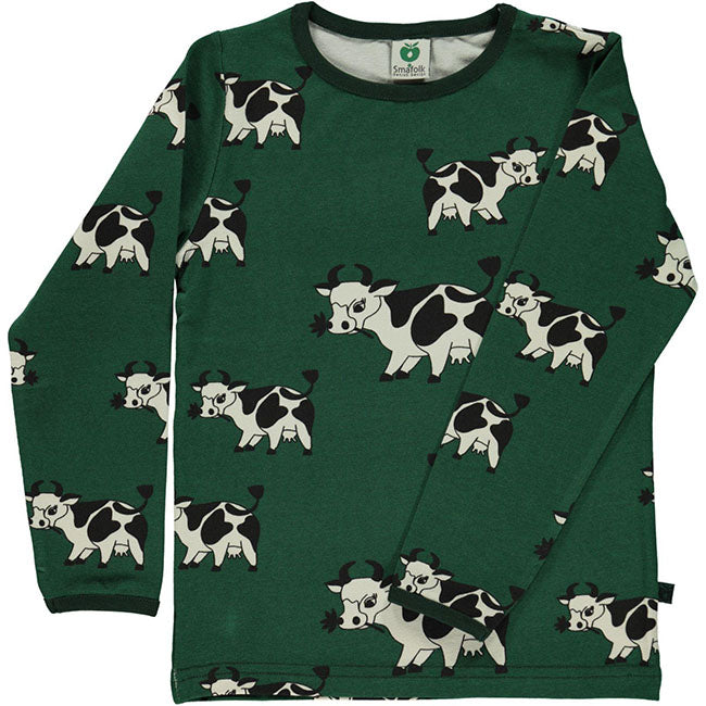 Smafolk Cow Top - Green