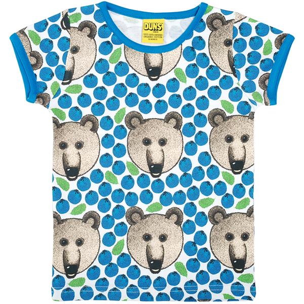 Duns Sweden Blue Bear T-Shirt