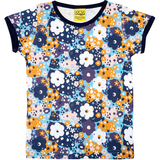 Duns Sweden Blue Flower T-Shirt