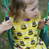 Maxomorra Bumblebee Dress S/S