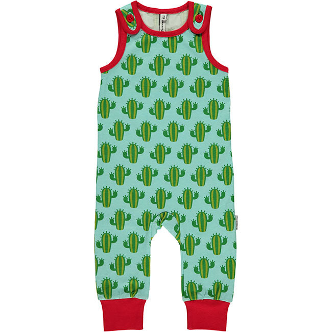 Maxomorra Cactus Playsuit - 1 x newborn size left!
