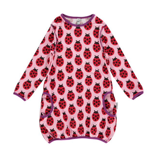 Maxomorra Ladybug Bubble Dress