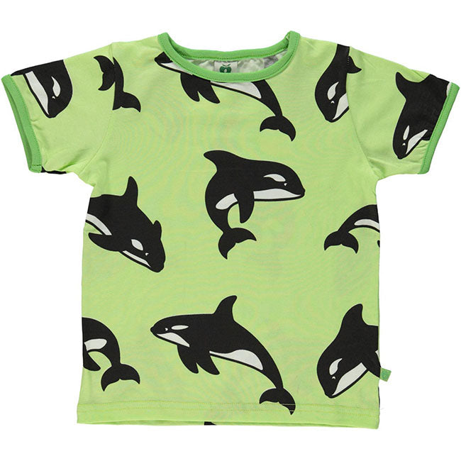 Smafolk Orca T-Shirt - Sap Green