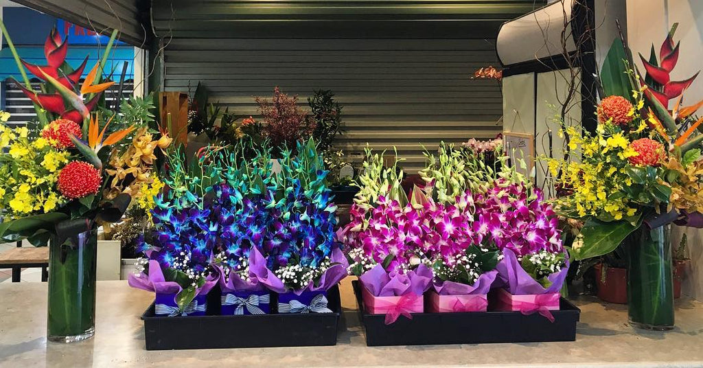 Proud to supply flowers for RMIT University