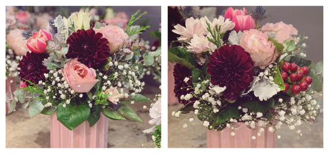 Beautiful dahlias for a hens party last weekend