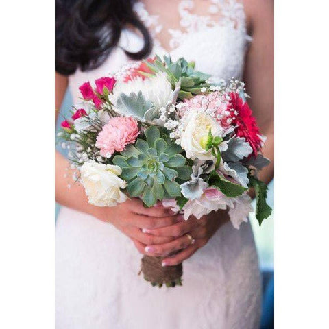 Gaby's wedding bouquet