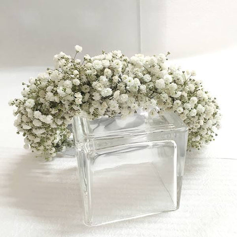 SW0001 - White flower crown