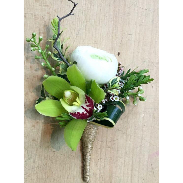 SW0020 - Cymbidium and ranunculus