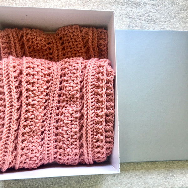 SCA0023 - Dusty pink scarf