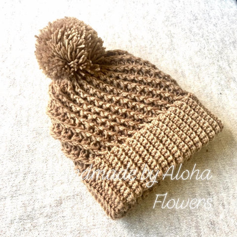 BEA0015 - Golden brown beanie