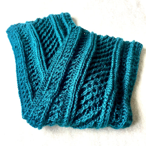 SCA0068 - Turquoise scarf