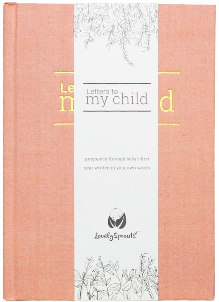 Letters To My Child: Bump to Baby Journal - Blush Pink