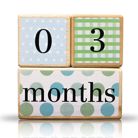 LovelySprouts Milestone Age Blocks