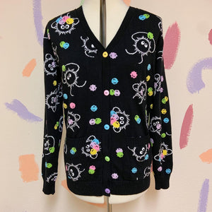 Soot Sprites & Konpeito Knitted Cardigan! *PREORDER*