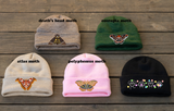 Embroidered Mix & Match Knit Beanies!