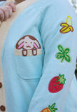 Embroidered Sleeve Baby Animal Cardigans!