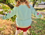 Lilypad Froggy Knitted Cardigan! *PREORDER*