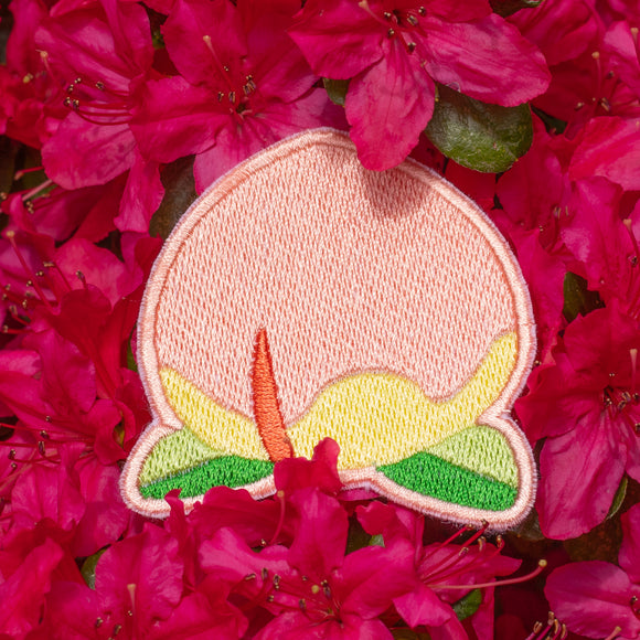 Animal Crossing Peach Embroidered Patch!