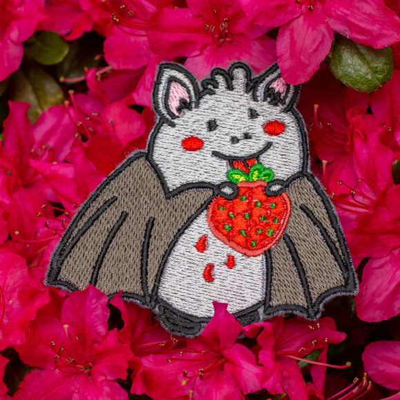 Fruit Bat Embroidered Patch!