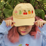 Animal Crossing Fruits Baseball Cap!