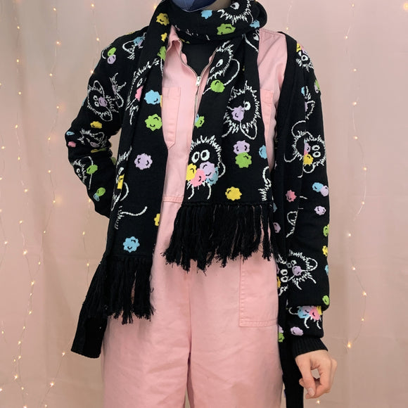 Soot Sprites & Konpeito Knitted Cardigan!