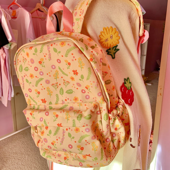 Summer Blooms Mini Backpack! PREORDER