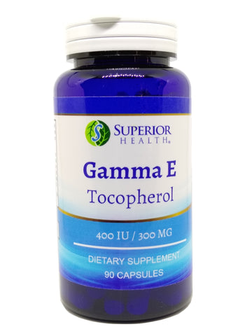 Vitamin e 400 IU Gamma E Mixed Tocopherols 90 Capsules